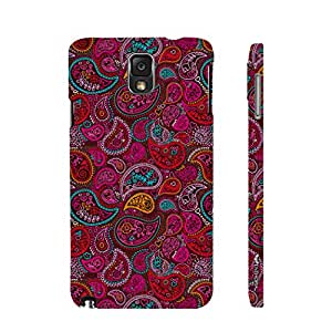 Enthopia Designer Hardshell Case Mango on Paper Back Cover for Samsung Galaxy Note 3