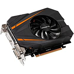 Gigabyte GeForce GTX 1070 Mini ITX OC 8GB GDDR5 Dual-link DVI-D HDMI DisplayPort PCI-E Graphics Card