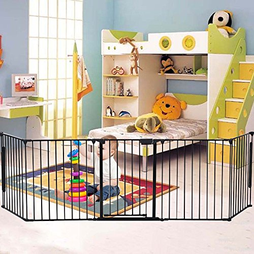 FCH Baby Gate Safety Fence Fireplace Fence Hearth Gate (Hearth Gate Fireplace Gate compare prices)