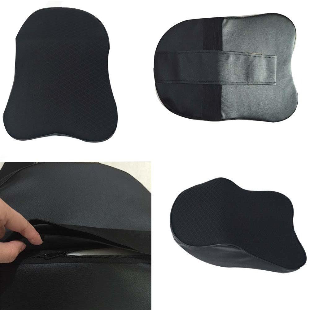 ZATOOTO Memory Foam Car Neck Pillow Travel Auto Head Neck Rest Cushion Neck Support Headrest Pillow (Black) ¡