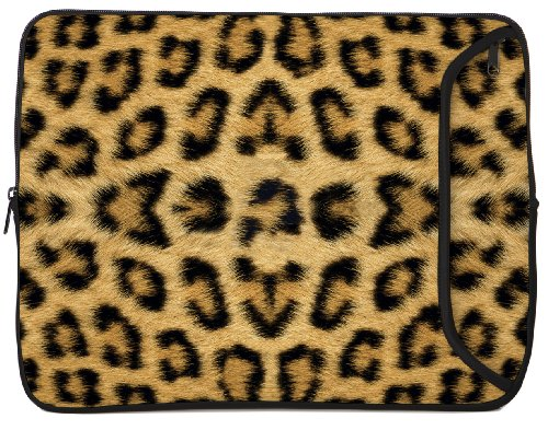 Designer Sleeves 13-Inch Leopard Laptop Case (13Ds-Leo)