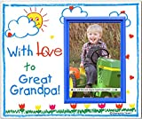 With Love to Great Grandpa! - Picture Frame Gift