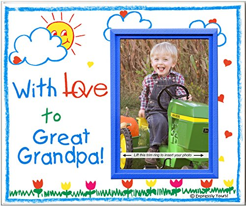 With Love to Great Grandpa! - Picture Frame Gift - 1