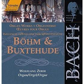 Bach, J.S.: Influences of Bohm and Buxtehude