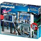 PLAYMOBIL 5176 - Polizei-Kommandostation mit Alarmanlage