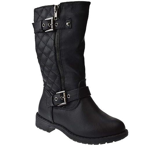 Lucky-Top-Girls-Pack-95K-Riding-Zipper-Boots-White