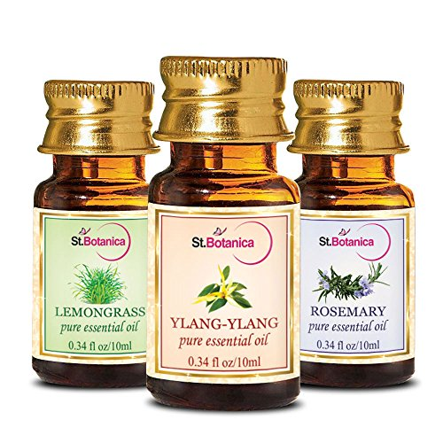 StBotanica St.Botanica Ylang Ylang + Lemongrass + Rosemary Pure Essential Oil