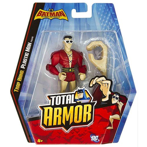 Batman Brave and the Bold Total Armor Trap Hand Plastic Man Action Figure - 1