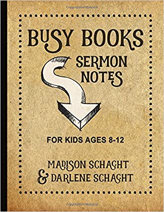 Busy Books: Sermon Notes for Kids
