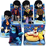 The Beatles 2012 Factory Entertainment Yellow Submarine Band Member Plush Doll