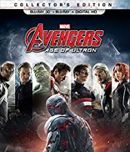 Marvel's Avengers: Age of Ultron [Blu-ray 3D + Blu-ray + Digital HD] (Bilingual)