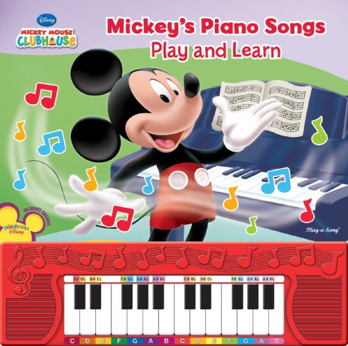 Mickey'S Play And Learn Piano Songs front-744307