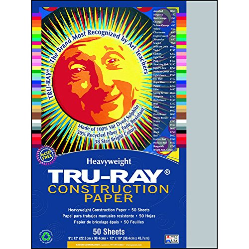 PAC103027 - Pacon Tru-Ray Construction Paper - 1