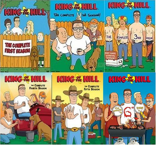 king of the hill � seasons 1 � 6 video store online