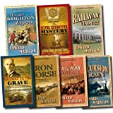 Edward Marston Railway Detective Collection 7 Books Set Pack (The Silver Locomotive Mystery, Murder on the Brighton Express, The Excursion Train, The Railway Detective, The Railway Viaduct, Railway to the Grave, Iron Horse) Edward Marston