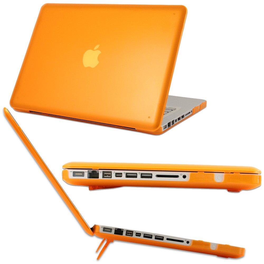 mCover A1278 (naranja) Carcasa protectora dura (estuche rígido) de policarbonato para MacBook Pro 13 (más vendidos caso del MacBook en los EE.UU.)  Electrónica Revisión del cliente y más noticias