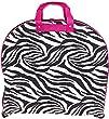 Ever Moda Hanging Garment Bag, Purple Zebra (40-inch)