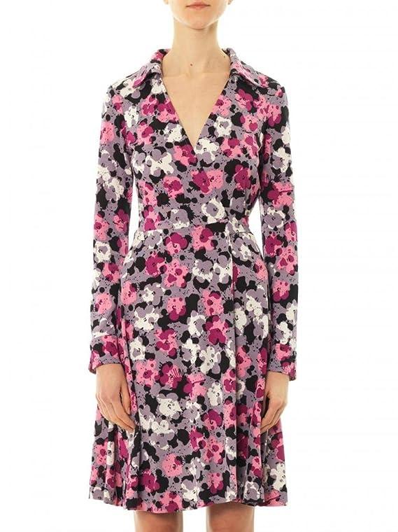 Diane von Furstenberg T72 Pop Wrap Limited Edition in Floral Splatter Shadow Pink