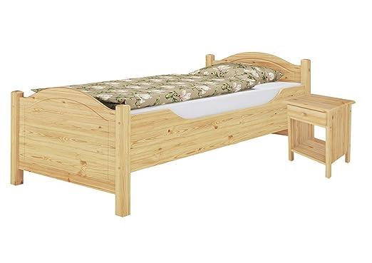 60.40-10 K0 Seniorenbett 100x200 cm, mit Rollrost und Nachttisch