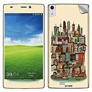GsmKart GE5.5 Mobile Skin for Gionee Elife 5.5 (Elife 5.5-784)