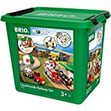 Brio 33155 BRIO Bahn Großes Landschafts-Set, Jubiläumsbox,...