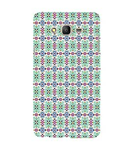 EPICCASE doted flowers Mobile Back Case Cover For Samsung Galaxy E5 (Designer Case)