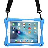 Cooper Trooper 2K Rugged case Compatible with Lenovo IdeaTab S6000 | Drop Shock Proof Heavy Duty Protective Cover | Shoulder Strap, Stand, Hand Strap | Kids Boys Adults (Blue) (Color: Blue, Tamaño: Lenovo IdeaTab S6000)