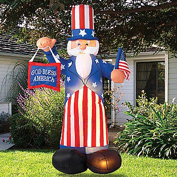 Fourth Of July Yard Inflatables Fourth Of July Wikii