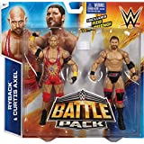 CURTIS AXEL & RYBACK - WWE BATTLE PACKS 35 WWE TOY WRESTLING ACTION FIGURE 2-PACKS