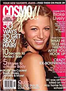Cosmo Girl Magazine November 2007 Blake Lively Gossip ...