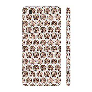 Enthopia Designer Hardshell Case A BUSHY SPLASH Back Cover for Huawei P8
