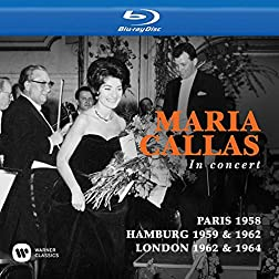 Callas Toujours, Paris 1958 / in concert, Hamburg 1959 & 1962 / at Covent Garden, London 1962 & 1964 [Blu-ray]