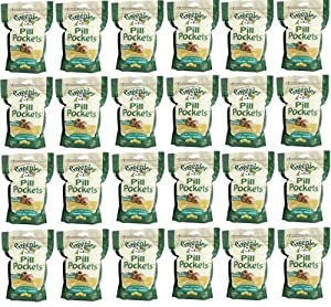 Greenies Chicken Large Dog Pill Pockets 11.85 lb (24x7.9oz bags)