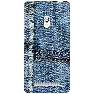 Printland Jeans Print Phone Cover For Asus Zenfone 5 A501CG