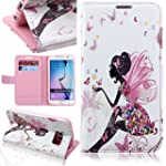 Galaxy S6 Case, ISAKEN Butterfly Fair...