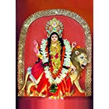 "Dolls Of India ""Katyayani - The Sixth Form Of Navadurga"" Photographic Print - Unframed (60.96 X 50.80 Centimeters..."