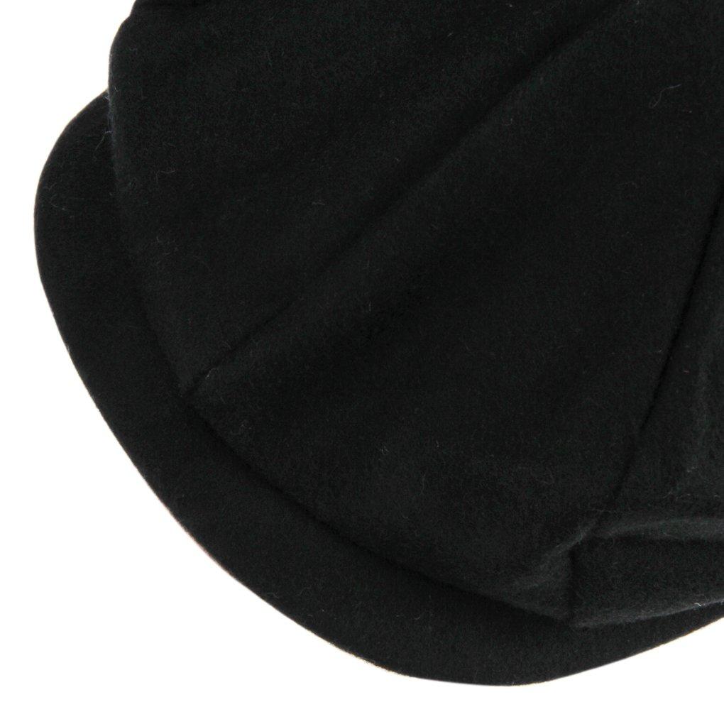 Unisex Winter Warm Baker Boy Newsboy Flat Cap Cheviot Tweed Beret Ivy Cabbie Cap Hat 3