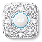 Nest Protect 2nd Generation Smoke + Carbon Monoxide Alarm (Wired) by Nest