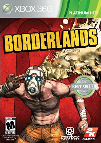 Borderlands - Xbox 360 back-482401