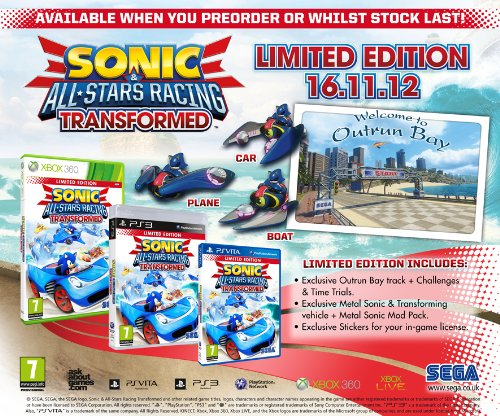 Sonic & All Stars Racing Transformed Limited Edition screenshot