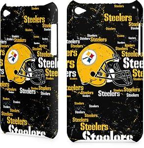 NFL - Pittsburgh Steelers - Pittsburgh Steelers - Blast Dark - iPod Touch (4th Gen) - inkFusion Lite Case at SteelerMania