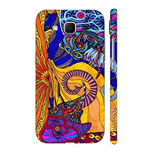 Enthopia Designer Hardshell Case Abstract Elephants Back Cover for Samsung Galaxy Core Prime
