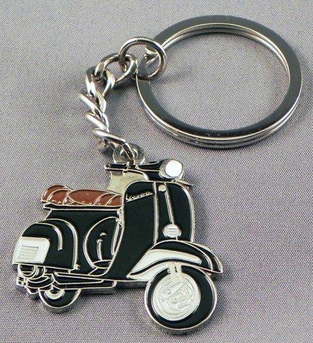 metal-enamel-keyring-black-vespa-mod-scooter