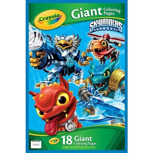 Crayola Skylanders Giant Coloring Pages
