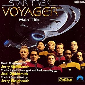 Jerry Goldsmith -  Star Trek: Voyager Main Title [CDS]