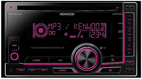 Kenwood Electronics DPX304 Autoradio CD/DVD Noir