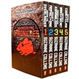 The Underland Chronicles Collection Suzanne Collins Gregor 5 Books Set (Gregor the Overlander, Gregor and the Prophecy of Bane, Gregor and the Curse of the Warmbloods, Gregor and the Marks of Secret, Gregor and the Code of the Claw)