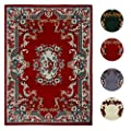 Multi-Color Traditional Area Rug Bordered Medallion Design Persian Oriental Carpet Rugs Runners