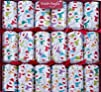 6 X 138243 33cm Racing Snowmen Christmas Crackers By Robin Reed