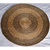 Round Rug - Jute Two Tone 5ft (1.53mts) dia.S504